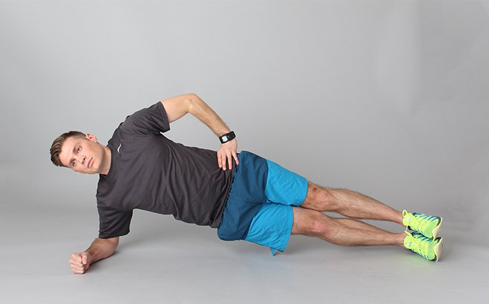 exercitii abdomen lateral planks
