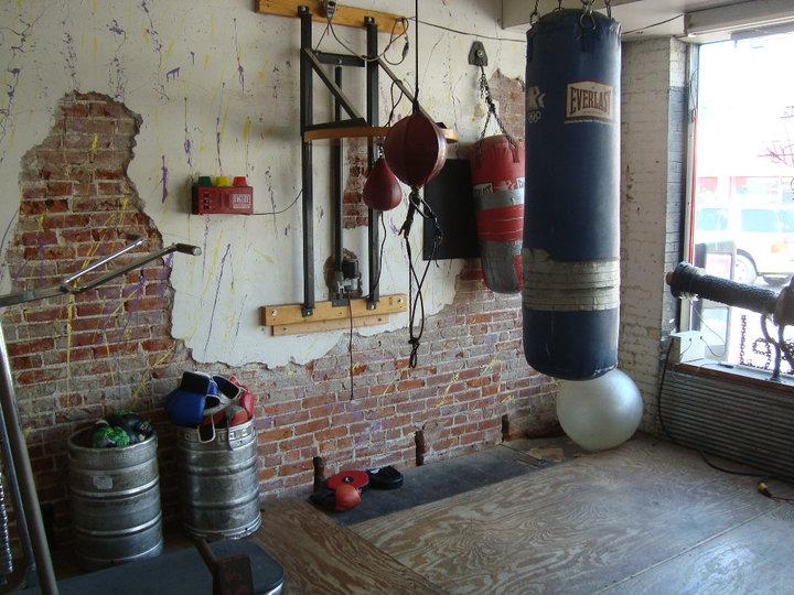 antrenament cu sac de box