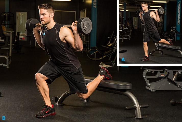 Antrenament pentru picioare masive