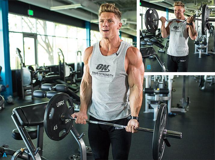 Antrenament pentru biceps