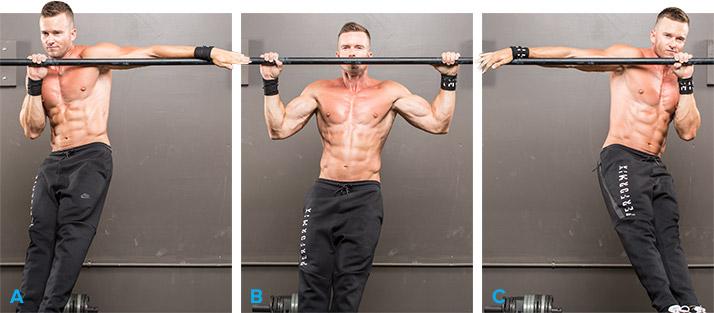 Antrenament Combinat pentru Spate Lat, Definit și Puternic